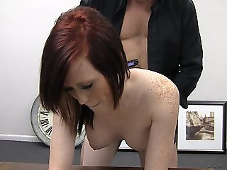 red head Grace.. anal