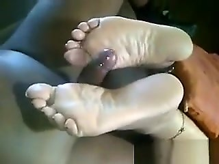 foot fetish Bringing.. straight