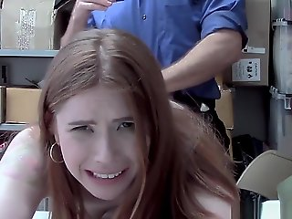 blowjob Stealing.. red head